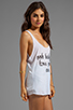 Image 2 of Sauce Ooh Baby Tank in White