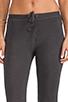 Image 4 of SUNDRY Skinny Sweatpants in Old Black
