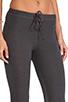 Image 5 of SUNDRY Skinny Sweatpants in Old Black