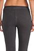 Image 6 of SUNDRY Skinny Sweatpants in Old Black