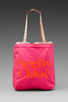 Image 2 of See By Chloe Gimmick Medium Shopper in Indian Pink