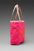 Image 3 of See By Chloe Gimmick Medium Shopper in Indian Pink