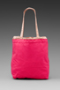 Image 4 of See By Chloe Gimmick Medium Shopper in Indian Pink