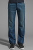 Image 1 of 7 For All Mankind The Standard in Cotton Linen Indigo