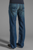 Image 3 of 7 For All Mankind The Standard in Cotton Linen Indigo