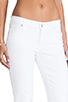 Image 5 of 7 For All Mankind The Skinny in Stark White