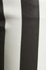 Image 7 of 7 For All Mankind Crop Slim Cigarette in Black & White Stripe