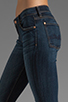Image 5 of 7 For All Mankind The Skinny with Squiggle in Genuine Dark Blue