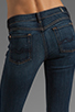Image 6 of 7 For All Mankind The Skinny with Squiggle in Genuine Dark Blue