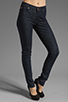 Image 1 of 7 For All Mankind Mid Rise Roxanne in Slim Illusion Rinse