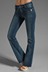 Image 1 of 7 For All Mankind Kimmie Bootcut in Grinded Blue