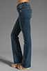 Image 2 of 7 For All Mankind Kimmie Bootcut in Grinded Blue