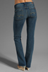 Image 3 of 7 For All Mankind Kimmie Bootcut in Grinded Blue