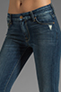 Image 4 of 7 For All Mankind Kimmie Bootcut in Grinded Blue