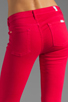 Image 6 of 7 For All Mankind The Cropped Skinny in Hot Fuchsia