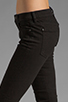 Image 5 of 7 For All Mankind The Skinny in Clean Black