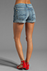 Image 3 of 7 For All Mankind Josefina Roll Up Short in Light Destroyed