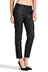 Image 2 of 7 For All Mankind Slim Chino in Coated Black