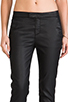 Image 4 of 7 For All Mankind Slim Chino in Coated Black