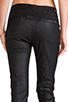 Image 6 of 7 For All Mankind Slim Chino in Coated Black