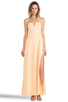 Image 1 of Shona Joy The Wanderer Maxi Dress in Apricot