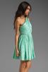 Image 3 of Shoshanna Rayna Dress in Aqua/Gold