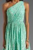 Image 5 of Shoshanna Rayna Dress in Aqua/Gold