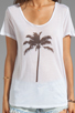 Image 3 of Show Me Your Mumu Graphic Walker Tee in Palm Tree