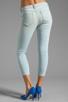 Image 3 of Siwy Juliet Skinny Crop in Cerulean