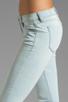 Image 5 of Siwy Juliet Skinny Crop in Cerulean