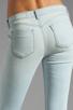 Image 6 of Siwy Juliet Skinny Crop in Cerulean