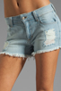 Image 4 of Siwy Britt High Waisted Shorts in Careless