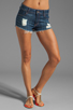 Image 1 of Siwy Jean Maud Cut-Off Shorts in Always With You
