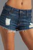 Image 4 of Siwy Jean Maud Cut-Off Shorts in Always With You