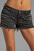 Image 4 of Siwy Alia Cut-Off Shorts in Renegade