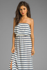 Image 1 of Soft Joie Cade Stripe Dress in Peacoat/Porcelain