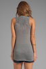 Image 2 of Soft Joie Cameo Tie Front Tank in Dark Heather Grey