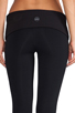 Image 6 of SOLOW Eclon Legging with Footholes & Fold Over Waistband in Black