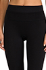 Image 4 of SPANX Power Knee Pant in Black