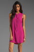 Image 1 of Splendid Tank Dress in Plum