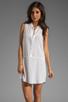 Image 1 of Splendid Tank Dress in White