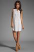 Image 2 of Splendid Tank Dress in White