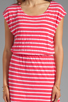 Image 5 of Splendid Short Sleeve Stripe Dress in Punch