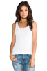 Image 1 of Splendid 1x1 Tank in White
