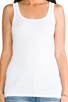 Image 4 of Splendid 1x1 Tank in White