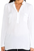 Image 4 of Splendid Blouse with Pockets in White