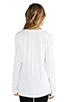 Image 3 of Splendid Very Light Jersey Long Sleeve Tee in White