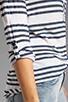 Image 4 of Splendid Capri Stripe Henley in Pearl