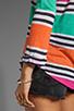 Image 4 of Splendid Cabana Stripe Top in Parfait
