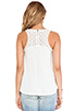 Image 3 of Splendid Lace Slub Tank in Sand Dollar